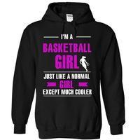 Cool basketball girl