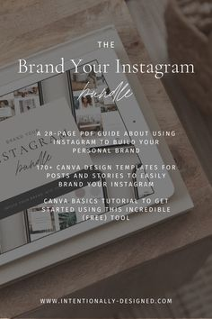 The Brand Your Instagram Bundle is a mini-course and template bundle helping you achieve a cohesive and well-branded Instagram. With the Brand Your Instagram mini-course and template bundle for only $47, you'll map out a simple branded Instagram strategy paired with clear and compelling visuals so you can confidently attract and engage with your ideal client and finally combat the scattered and inconsistent feed that doesn't reach the right people for your brand. Email Marketing Strategy, Marketing Training, Social Media Training, Story Template, Personal Branding, Brand You, Branding Design, The Incredibles, Templates