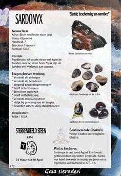Sardonyx - werking edelstenen - Gaia sieraden