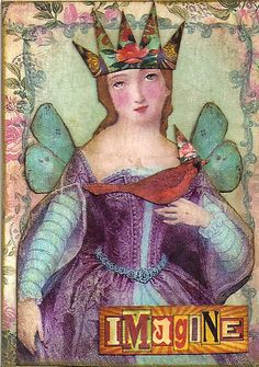 Artist Trading Card by Lori Broberg