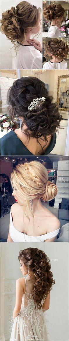 Best Hair Style For Bride   : Elstile Long Wedding Hairstyle Inspiration / www.deerpearlflow