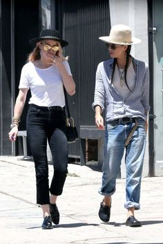Amber Heard And Tasya Van Ree Out And About In Hollywood