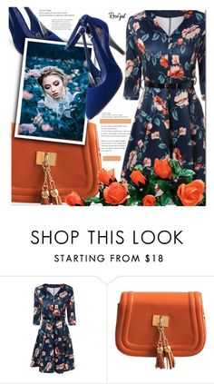"""Rosegal"" by cherry-bh ❤ liked on Polyvore featuring vintage"