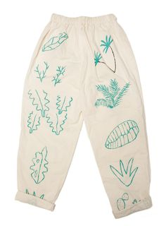 // bfgf-shop: Plants on Pants