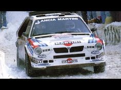 Mondiale Rally 1986 | 54ème Rallye de Monte-Carlo - YouTube Lancia Delta, Peugeot, Vehicles, Car, Vehicle