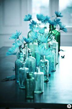 blue glass, I like this