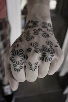 Geometric tattoo. Kenji Alucky