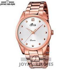 ⬆️😍✅ Lotus 18144/1 😍⬆️✅ Sublime Modelo de la Colección de Relojes LOTUS ➡️ PRECIO 89.2 € En Oferta Limitada en 😍 https://www.joyasyrelojesonline.es/producto/lotus-181441-reloj-de-pulsera-mujer-color-dorado/ 😍 ¡¡No los dejes Escapar!!