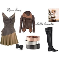 """""""River Song"""" by ronda-monschau on Polyvore"""