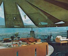 John Lautner - Elrod House in Palm Springs