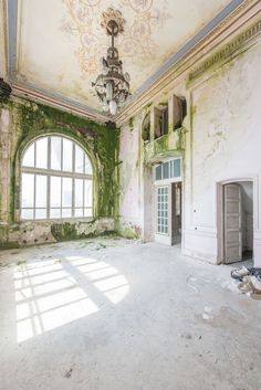 Abandoned and breathtaking. Perched on a cliffside overlooking the Black Sea, Romania's majestic Casino Constanta.