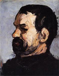 Uncle Dominique in Paul Cezanne - Cd Paintings National Gallery Of Art, National Portrait Gallery, Cezanne Art, Paul Cezanne Paintings, Richard Diebenkorn, Renoir, Tag Art, Monet, Cezanne Portraits