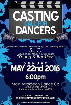 Casting Call: Dancers (Music Video)