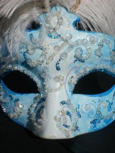 Gorgeous Venetian mask on etsy