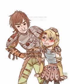 HTTYD 2 Hiccup with HTTYD 1 me. I don't like that he's taller than me.