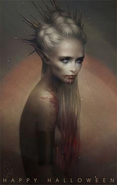 Mélanie Delon - Happy Halloween everyone!    WEB   SHOP   ARTBOOK...