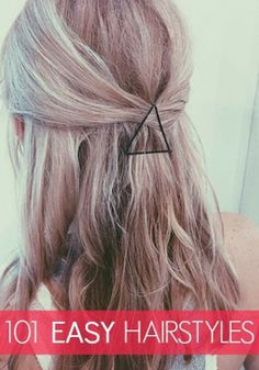 These hairstyles are too easy not to try!
