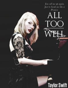 Offcial - Taylor Swift - All Too Well Red Tour Promotion Poster