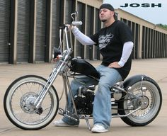 Kikker bobber 5150. These come in a kit, cheap, under 1500$ and in most states you dont need license, insurance, or registration to ride legally to work. They are 50cc, 125cc, and they have a 250cc.