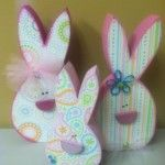 Bunny Heads - Unfinished Easter Wood Crafts
