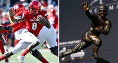 Louisville QB Lamar Jackson Pulls Off Perfect Heisman Pose During Run Against NC State - http://viralfeels.com/louisville-qb-lamar-jackson-pulls-off-perfect-heisman-pose-during-run-against-nc-state/