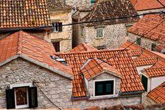 Travel Photography Croatia, Trogir, Roof Tops