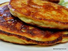 Crazy-Easy Banana Pancakes Recipe Breakfast and Brunch with bananas, large eggs, coconut flour, almond flour, baking powder, oil