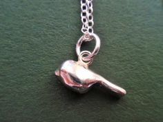 Sterling silver bird necklace £32.00
