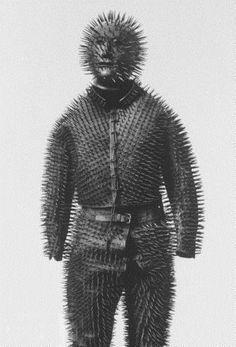 костюм сибирского охотника на медведя.