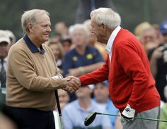 Slideshow: Jack Nicklaus at the Masters Fantasy Golf, Famous Golfers, Golf Etiquette, Classic Golf, Arnold Palmer, Jack Nicklaus, Vintage Golf, Golf Channel, Perfect Golf