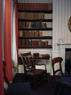 Anne Bronte sat in that chair.