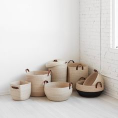 We partner with artisans to create modern goods for the well-traveled home. Rope Basket, Basket Weaving, Hand Weaving, Basket Shelves, Storage Baskets, Storing Blankets, Montessori Toys, Cube Storage, Home Textile