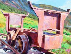 Keno Mine Car, Acrylic, 30x40 inches, Jeff Wilson, December 2017 Stuff To Do, December, Car, Painting, Automobile, Painting Art, Paintings, Painted Canvas, Autos