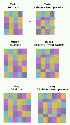 T-shirt quilt; I really want to make one with travel T-shirts