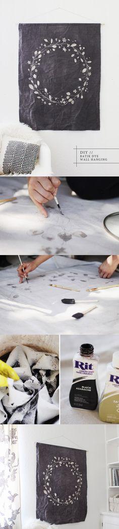 Batik dye DIY//