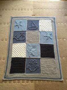 Last Dance on the Beach Scheepjes CAL 2016 – Knitting – Decke Bobble Stitch Crochet, Crochet Quilt, Crochet Cross, Afghan Crochet Patterns, Baby Blanket Crochet, Baby Knitting Patterns, Crochet Baby, Nautical Crochet, Cal 2016