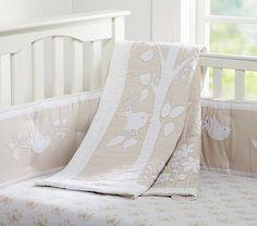 Sadie Nursery Bedding #WilliamsSonoma