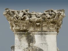 Scylla in action from the market basilica at Magnesia ad Marandrum. Turkey