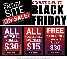 0e08b3ab35f665 Countdown to Black Friday! Entire Site is on SALE! Sales Valid: 11/16/18  SHOP: BonWorth.com