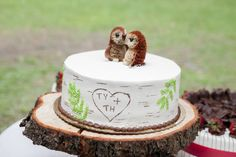 nature inspired wedding cakes - Google Search
