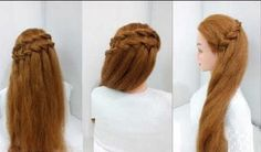TWIST AND FALL EASY HAIRSTYLES Tutorial