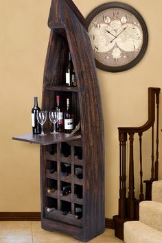 Wine cabinet just a diff colour home inspirations for Boat kitchen cabinets