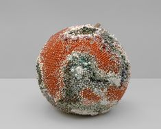 Decoration and Decay: Moldy Fruit Sculptures Formed From Gemstones – In an ongoing series of sculptures, artist Kathleen Ryan creates oversized moldy fruits… Studios D'art, Fruit Sculptures, Rotten Fruit, Visual Arts Center, Art Gallery, Colossal Art, Fruit Art, Art And Architecture, Decoration