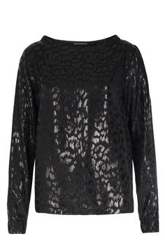 DRYKORN Seiden-Mix Bluse mit Leoparden Print Black bei myClassico - Premium Fashion Online Shop