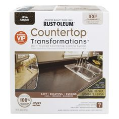 Rust-Oleum? Countertop Transformations Kit in Java Stone (258283 ...
