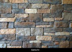 Exterior Stone - Santa Fe. I like the grey and brown mixture.