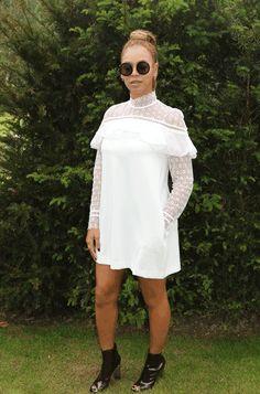 Wimbledon 2016 Beyonce beautiful dress .