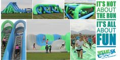 This should be a blast! The Insane Inflatable 5K is coming to Atlanta, Georgia! Get ready to experience the most fun, wild and insane obstacle run in the world. Barefooted I guess! Haha