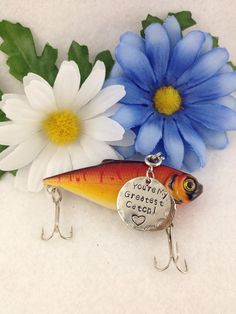 Customized Fishing Lure with Your Special Message by FishWithHope