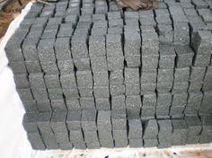 Chinese paving stone g612, cube stone